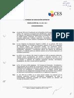 Documento Oficial Institutos