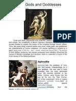 12 Gods and Goddesses GREEK