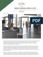 Sociedade Da Vigilância_ Condomínios Edilícios e a LGPD - JOTA Info