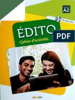 Edito A2 - Cahier