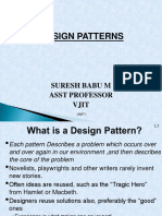 Design Patterns Lecture Notes on Unit 1