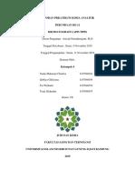 Laporan Prkatikum Kimia Analitik