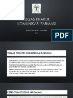 11. TUGAS KOMUNIKASI FARMASI (BU AMEL).ppsx