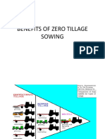 Benefits of Zero Tillage Sowing