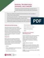 CDC Tipsheets 2016 NetworkingInformationalInterviewingLinkedIn