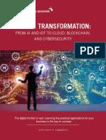 Digital Transformation at MIT