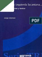 Alemán, Jorge - Para una izquierda lacananiana... Intervenciones y Textos.pdf