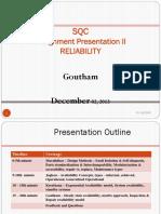 SQC Reliability