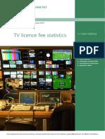 TV licence fee statistics By Lukas Audickas