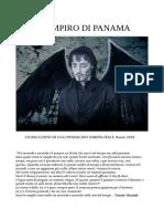 Il Vampiro Di Panama Di Ugo Pennacino. Torino-Italy, Natale 2019.