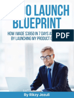 JV Launch blueprint