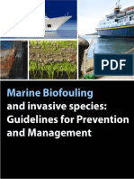 Bio Fouling Guidelines
