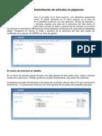 03 Manual de AdministracIon de Articulos Phpwcms