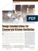 ASHRAE Article Ckv Design Consideration