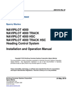 NAVIPILOT 4000-Installation and Operation Manual