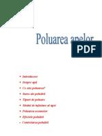 Poluarea apelor1