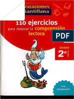 110ejercicios_Comprensión Lh 2 Santillana