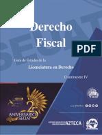 Derecho Fiscal, guía de desarrollo