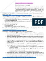 Resumen Organizacion y legislación educación especial