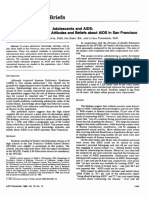 Adolescents and AIDS a survey PSP about AIDS in San Fransico.pdf