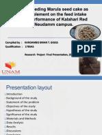 B.G.T KANDAMBO Mini-thesis PPT,2019