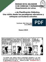 Enfoques Pedagã'Gicos y Curriculares