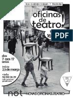 Not - Cartaz OFICINAS - InÍCIO Logo RDT Cinza 3