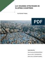 ..Urban Public Housing Strategies in Developing Countries