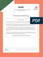 Addiction Screening Questionnaire
