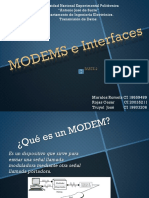 Modems e Interfaces