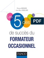les 5 cles de succes du formateur occassionel