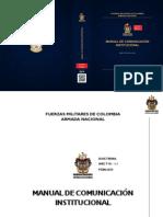 Manual de Comunicación Institucional Armada de Colombia