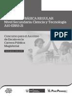 EXAMEN DE ASCENSO DE ESCALA MAGISTERIAL DE CIENCIA Y TECNOLOGÍA 2019
