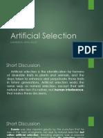 Articial Selection