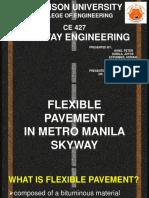 Flexible Pavement in Metro Manila Skyway