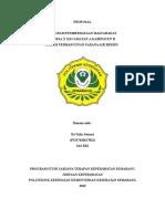 Proposal Pemberdayaan Masyarakat Dalam Pembangunan Sarana Air Bersih.doc