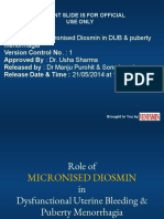 ROLE OF MICRONIZED