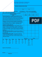9 - Defense Rating Sheet