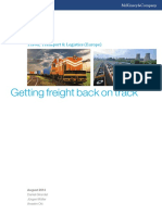 Getting Freight Back on Track