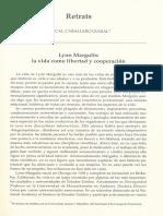 1-Lynn Margulis La Vida Como Libertad y Cooperación