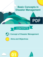 Basic concept in Disaster Management