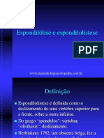 Espondilolise e Espondilolistese