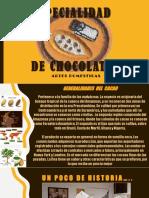 especialidad desarrollada de chocolates para guías mayores