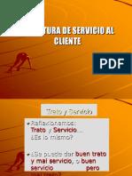 Calidad en El Servicio Al Cliente Presentacion en Power Point