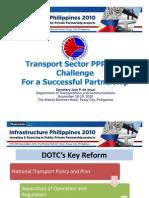 DOTC Infrastructure Philippines 2010