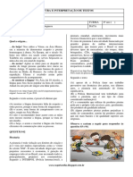 SD 001 - Leitura e Interpretação Textual 8º Ano - Aluno PDF
