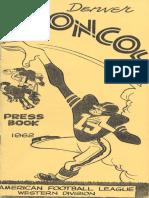 1962 Broncos