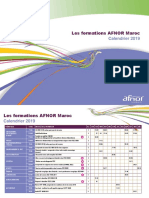 formations afnor