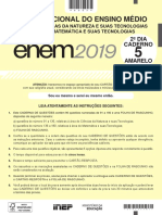 Prova Teste Do ENEM 2019