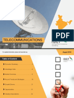 Telecommunications August 2019
